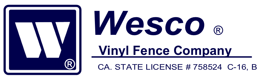 Wesco Vinyl Fence