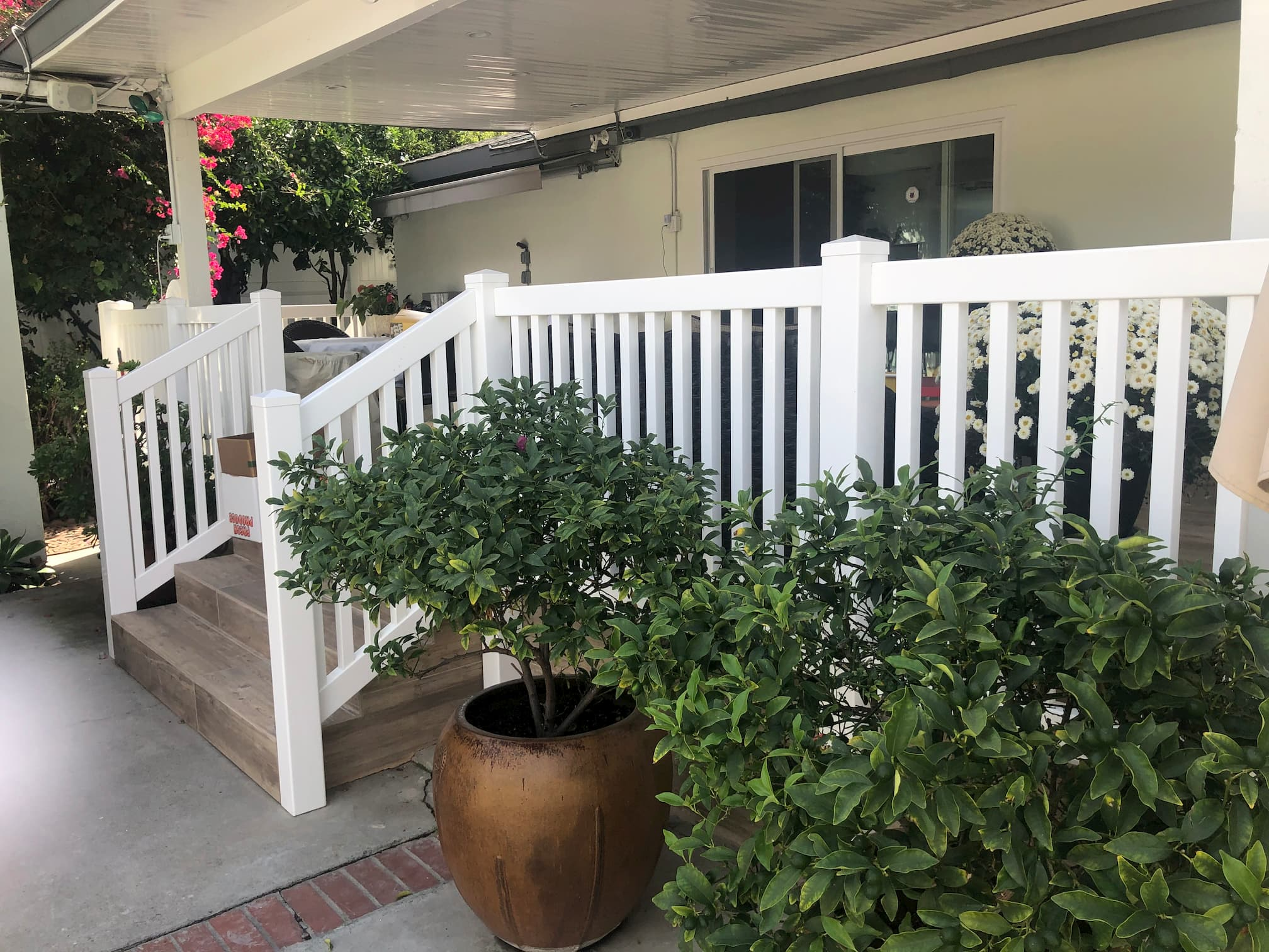 Vinyl Deck Railing Palms Los Angeles