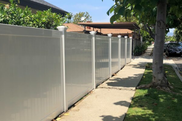 Vinyl Privacy Fence Mar Vista