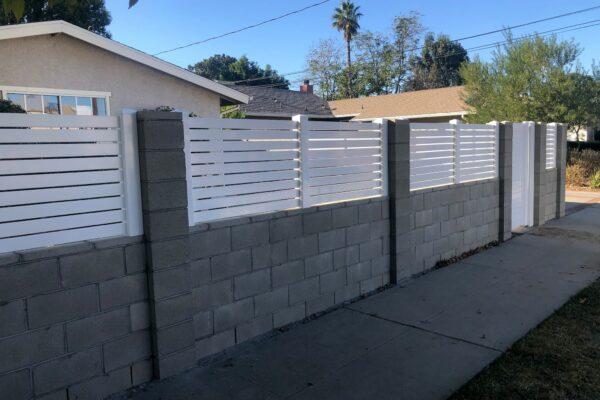 Vinyl Wall Topper Extensions Los Angeles