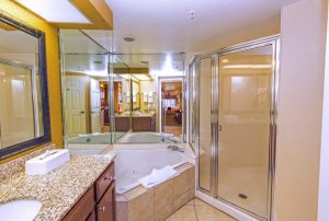 Four-Bedroom Villa Shower Area