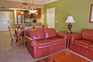 One-Bedroom Deluxe Villa living area