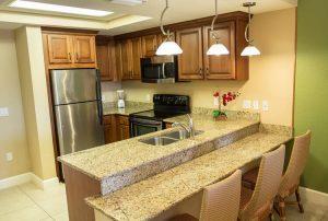 One-Bedroom Deluxe Villa kitchen