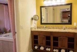 One-Bedroom Deluxe Villa Bathroom area