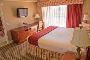 One-Bedroom Deluxe Villa Bedroom