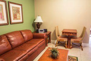 One-Bedroom Villa Living room