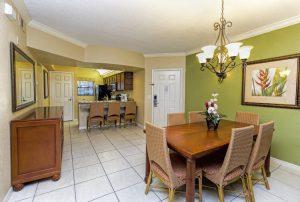 Three-Bedroom Villa Dining Area