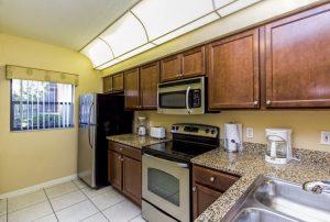 Three-Bedroom Villa Kitchen