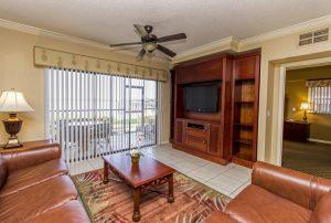 Three-Bedroom Villa Living room