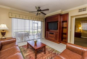 Two-Bedroom Villa Living Room