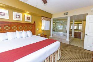 Two-Bedroom Villa King bed room
