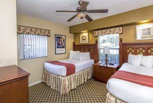 Two-Bedroom Villa Double Bed room