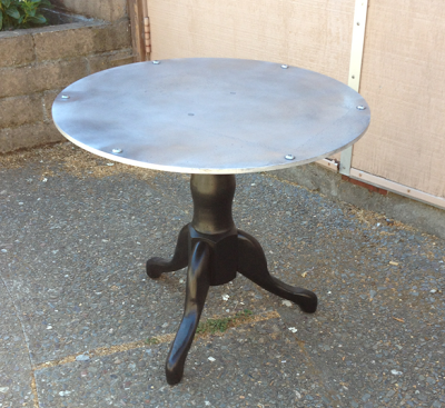 Industrial Aluminum Table