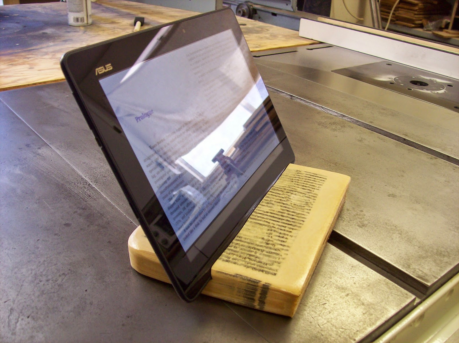 Book Tablet Holder