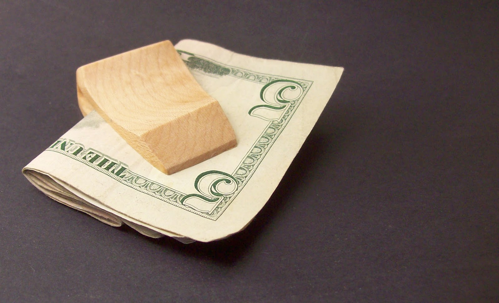 Wooden Money Clip