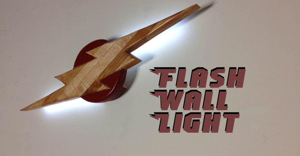 How To Make A Flash Wall Light