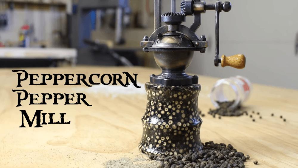 Peppercorn Pepper Grinder