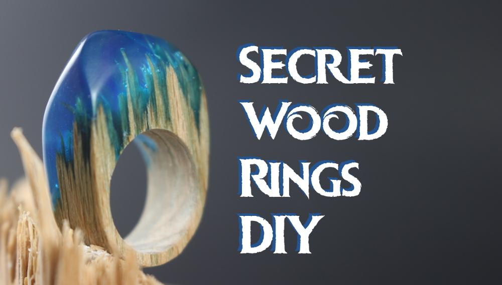 Secret Wood Rings DIY