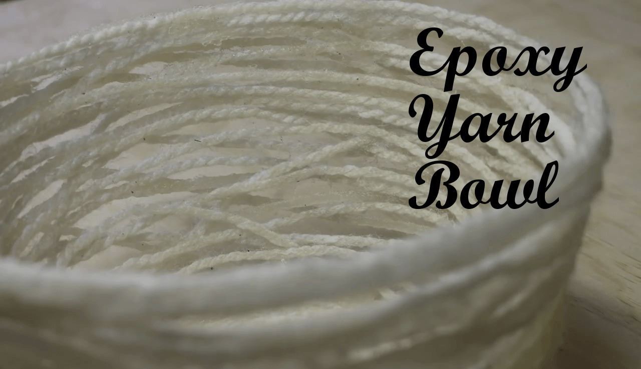 Epoxy Yarn Bowl