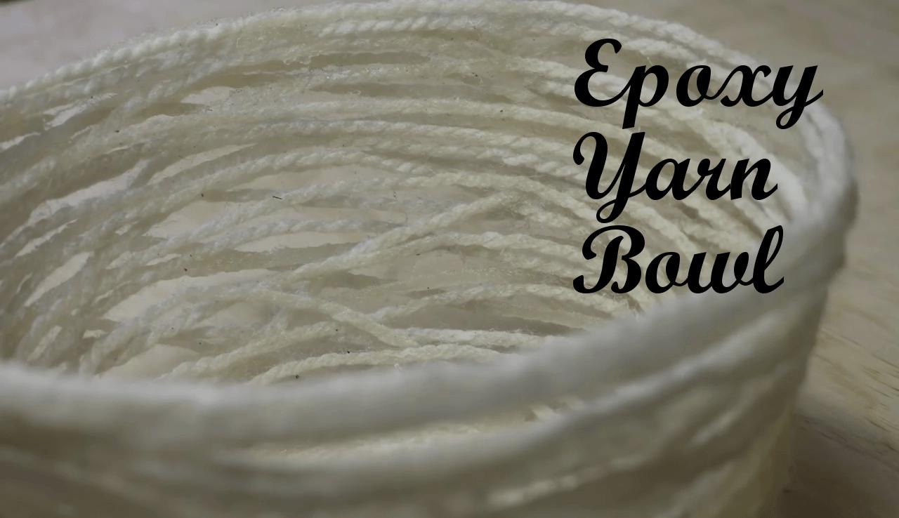 Epoxy Yarn Bowl