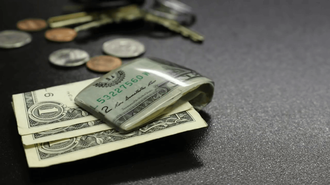Dollar Bill Money Clip