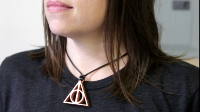 Copper Pendant From Humble Plywood