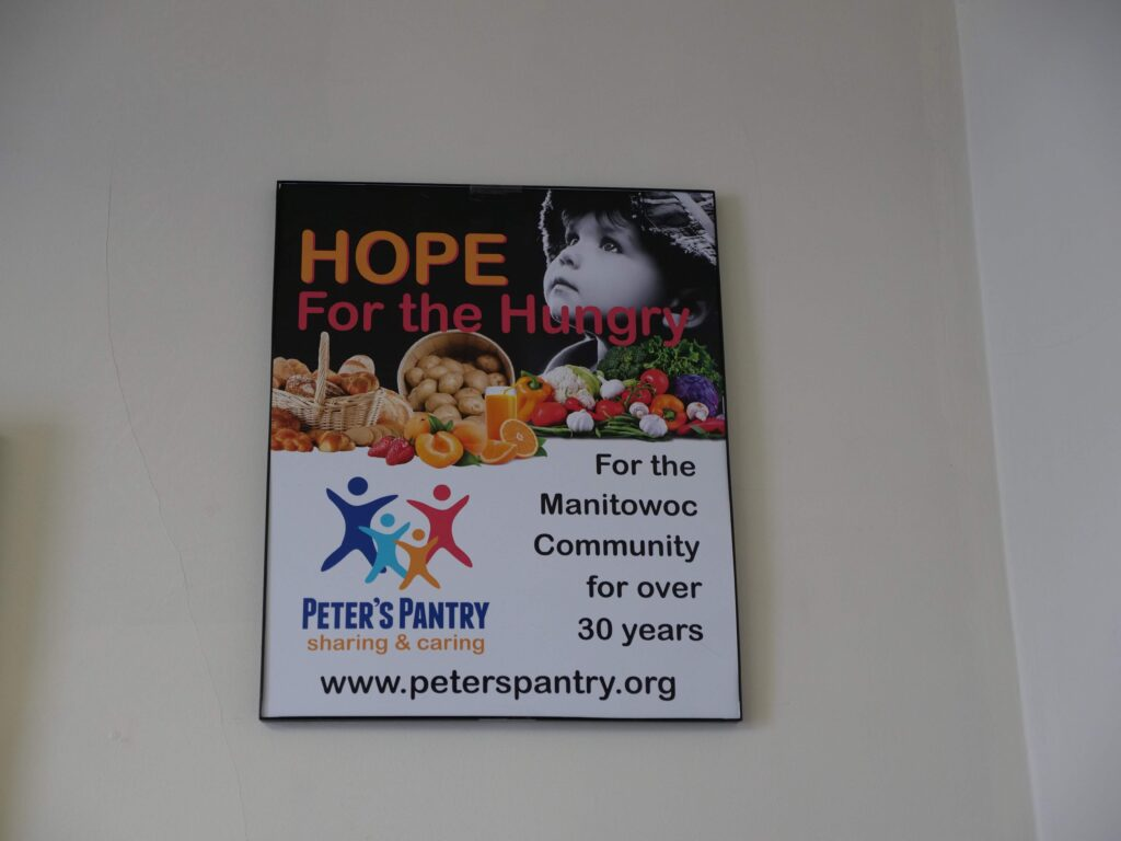 Hope for the Hungry Poster