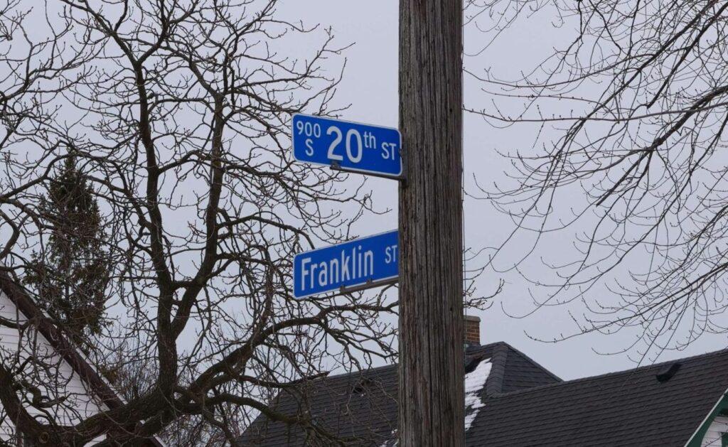 Entrance at 20th / Franklin