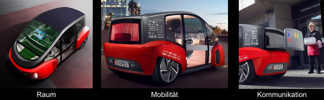Das TECHNIPLAS Unternehmen, WEIDPLAS,  in Zusammenarbeit mit RINSPEED OASIS auf der Consumer Electronics Show (CES) und dem Automobilsalon Genf