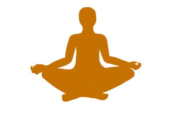 Dhyana limb: meditation. Art by Lorelei Dohm.