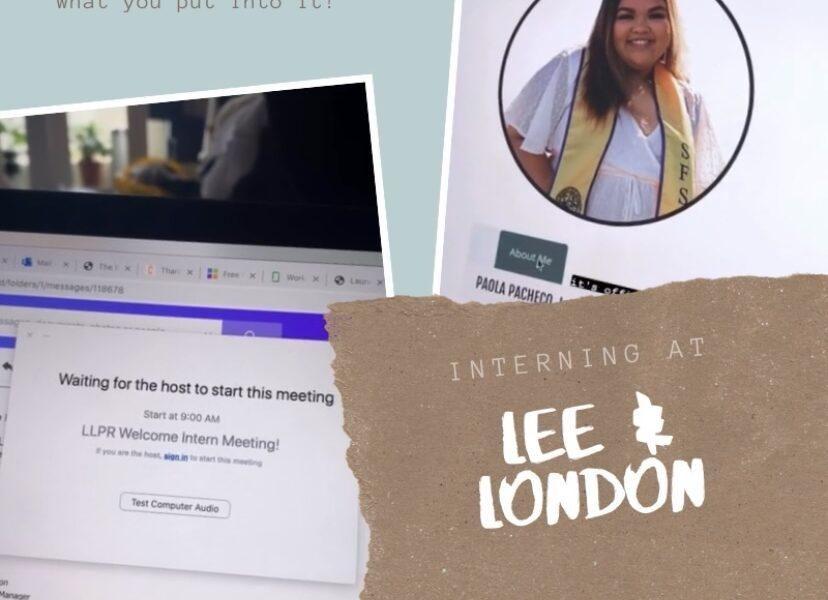 (Fall)ing for Lee & London: PR Intern Edition