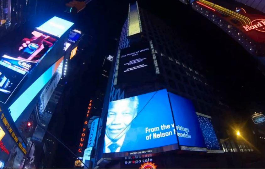 The Power of Words: Nelson Mandela