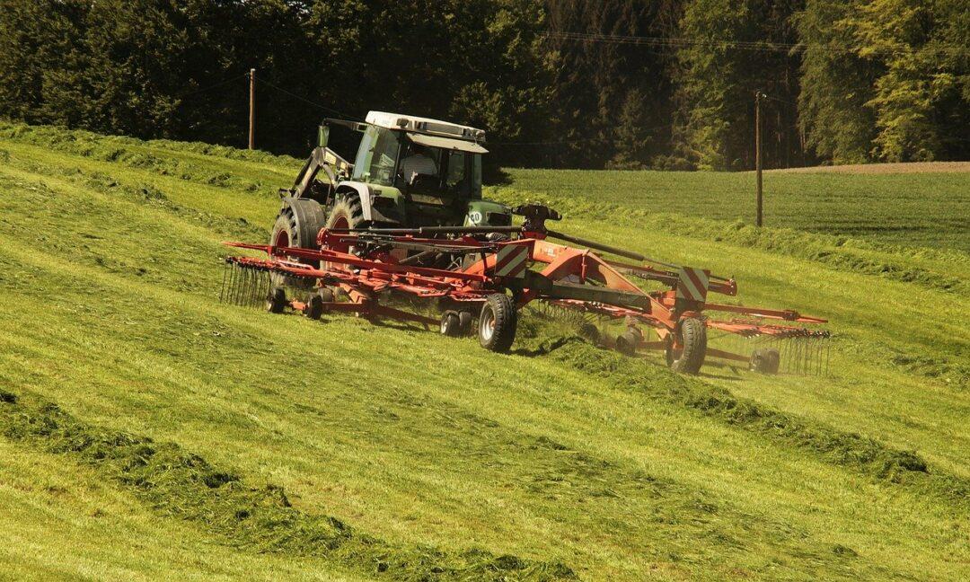 Farm Operations Hay Field