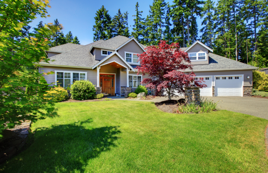Country Home Curb Appeal