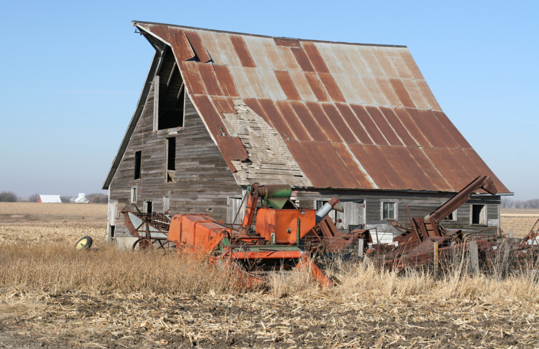Barn with Junk