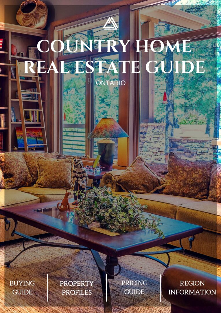 Large Country Real Estate Guide Cover