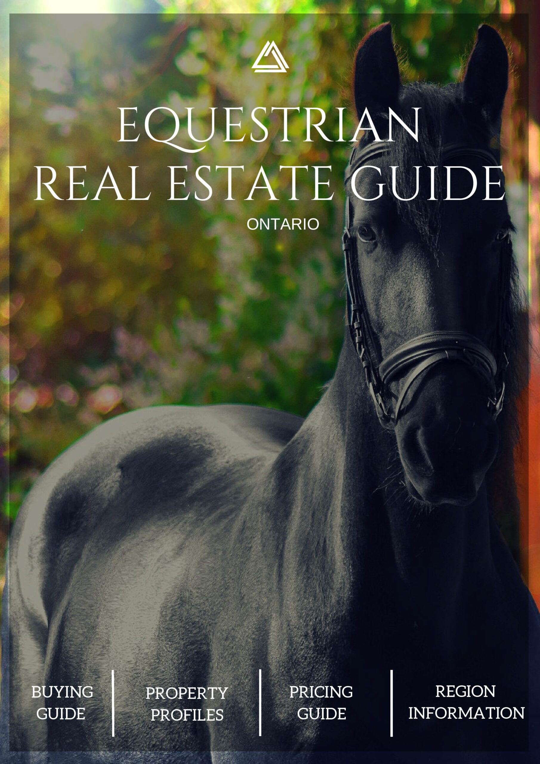 Large Equestrian Guide Cover