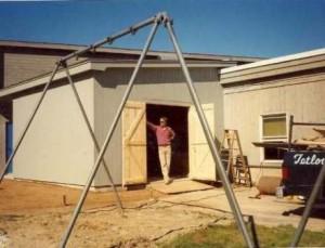 sheds custom storage building