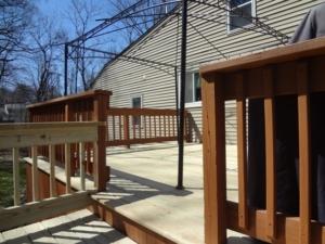 Deck Repair - Decking Replaced