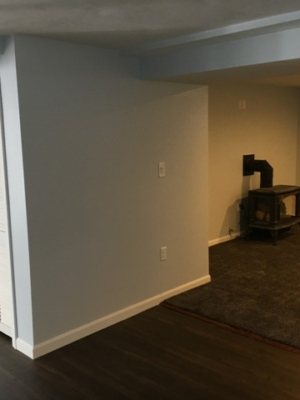 Basement renovation