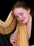 Harpist Katherine Saxton