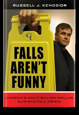 Falls aren't funny book cover