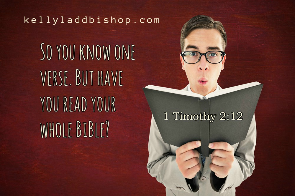 So You Know One Verse. But Have You Read Your Whole Bible?