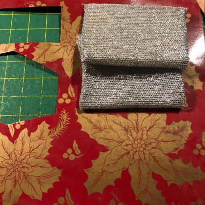 placemat and scrubbies