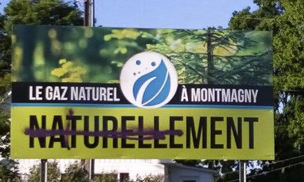 Extension du gazoduc à Montmagny : subventionner le gaz naturel et rater la transition énergétique