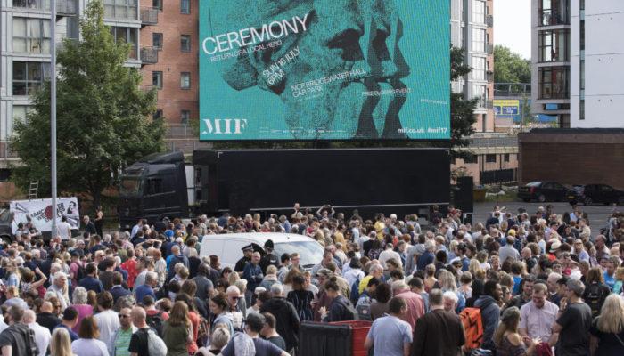 Ceremony (Manchester International Festival; Photo - Joel Fildes)