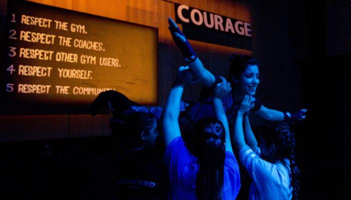 No Guts, No Heart, No Glory (Common Wealth Theatre; Photo - Belinda Lawley)