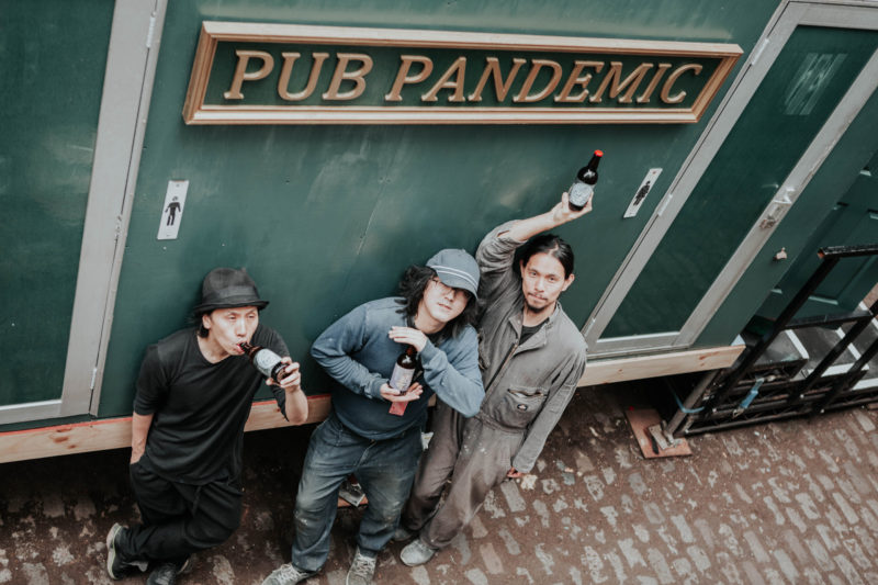 A Drunk Pandemic (Manchester International Festival; Photo – Rob Connor)