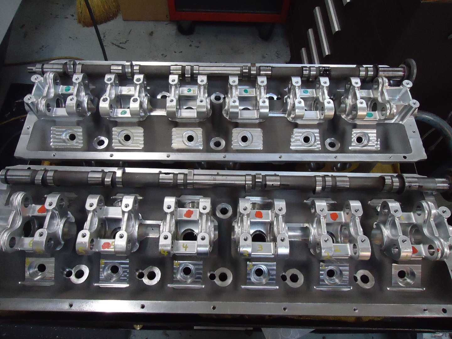 Cylinder Heads and Caps