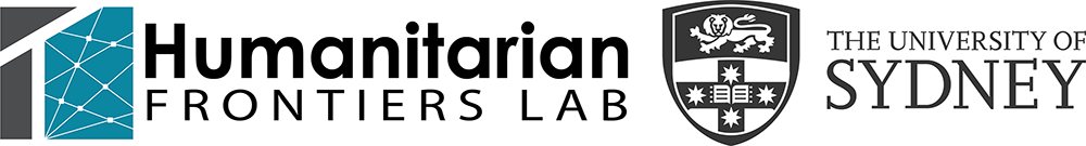 Humanitarian Frontiers Lab The University of Sydney